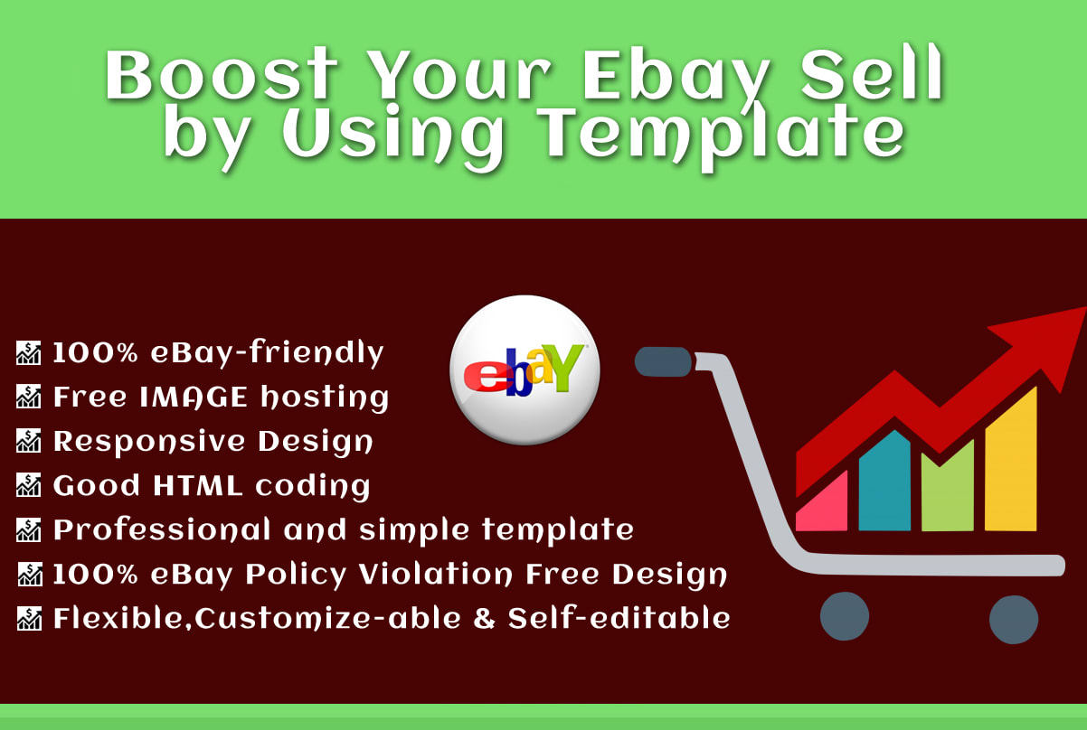 Boost Your Ebay Sell By Using Template By Jamshedul65