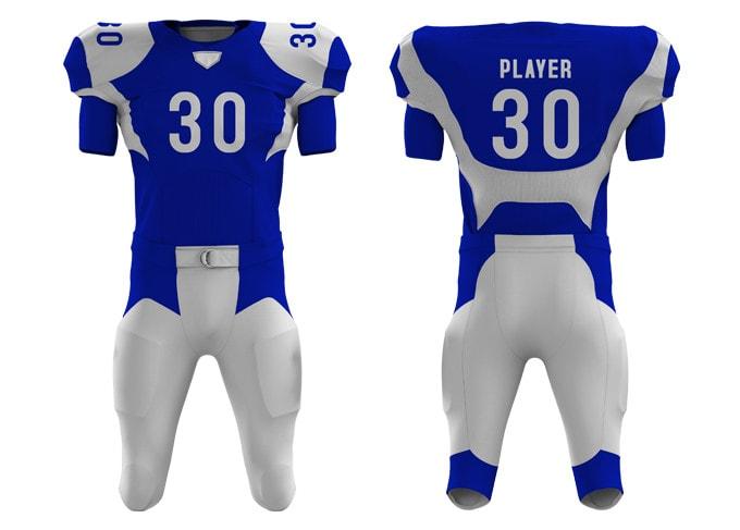 Download Create Realistic American Football Kit Design And 3d Mockup By Ranatamoornisar Fiverr Free Mockups