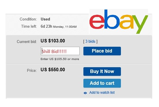 Shill Bid Your Ebay Item By Juicygreenapple