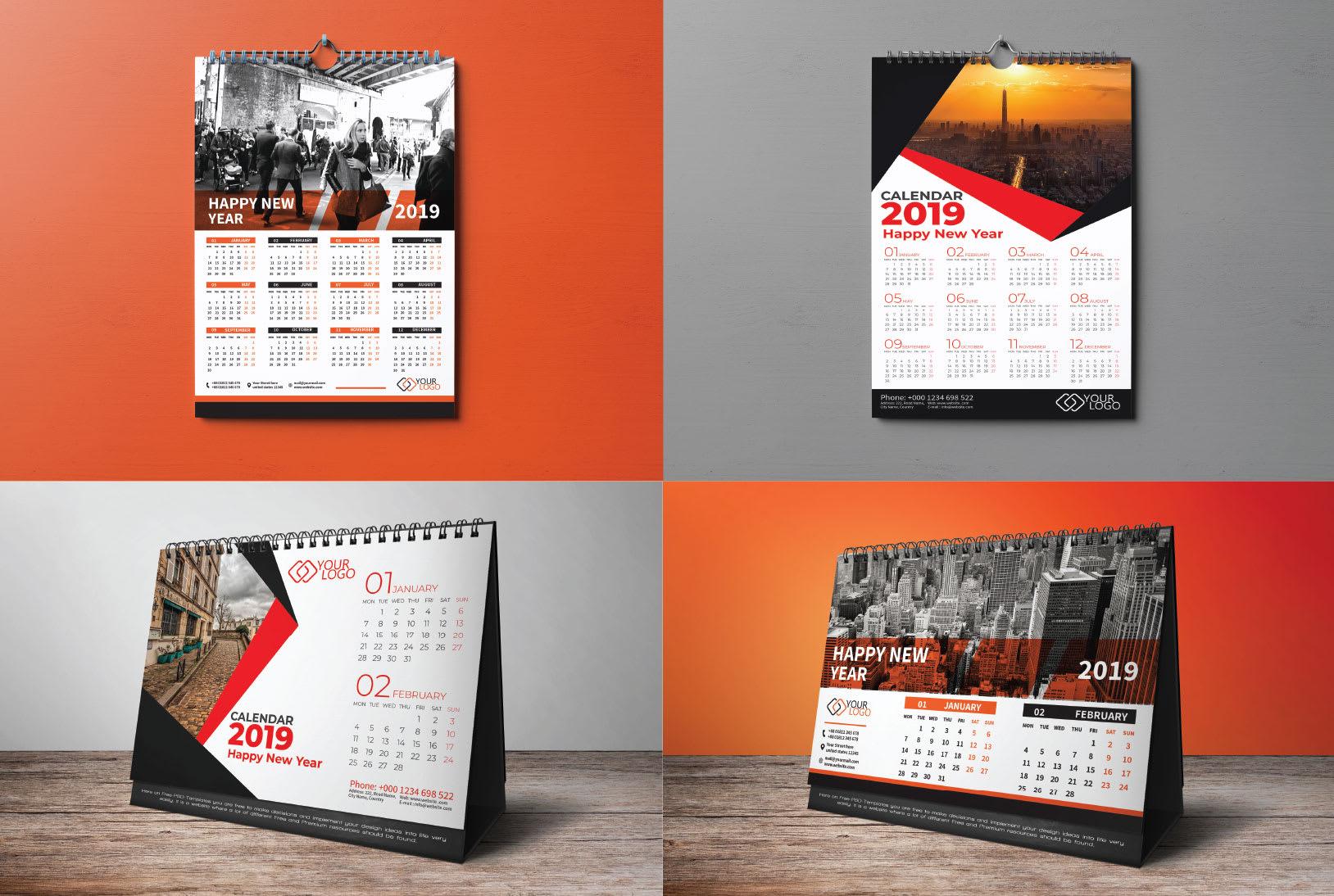 I Will Do Creative Exclusive With Unique Calendar Design