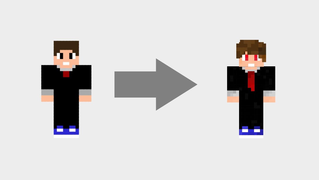 Shade Your Minecraft Skin By Pumizumi