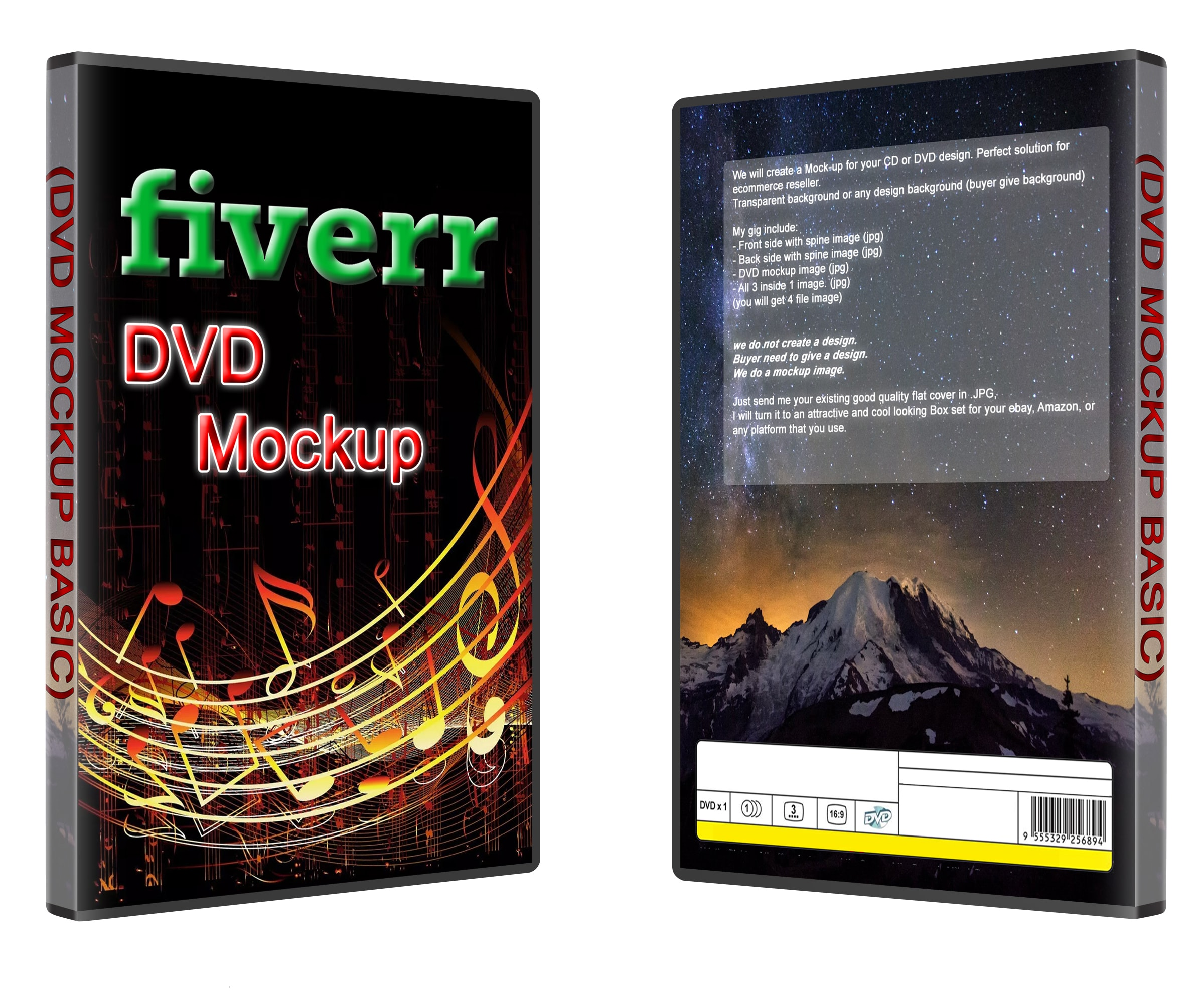 Create A Cd Or Dvd Mockup For Your Design By Azzury