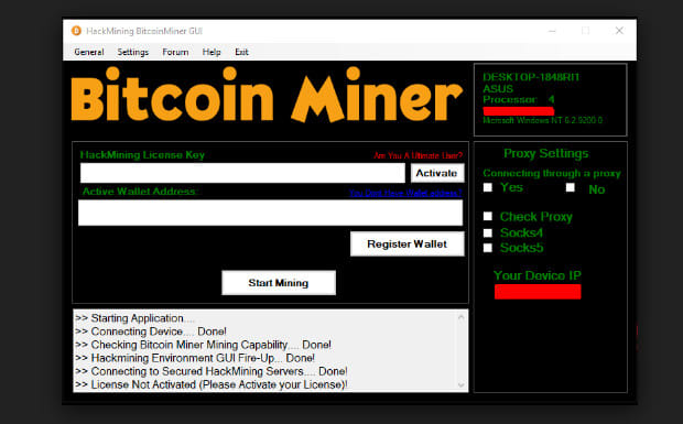 How To Setup Bitcoin Mining Software Bitcoin Wallet Multiple