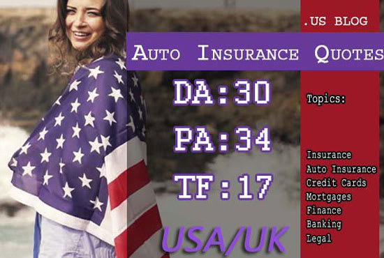 write and publish guest post in USA insurance blog