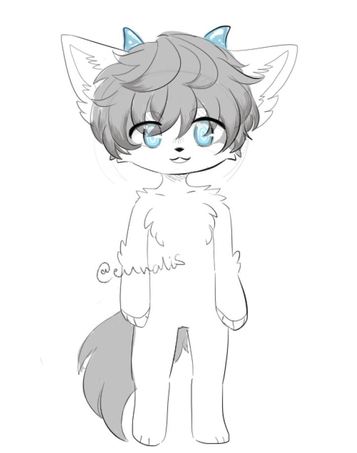 Draw Furry Art For You By Eunalis