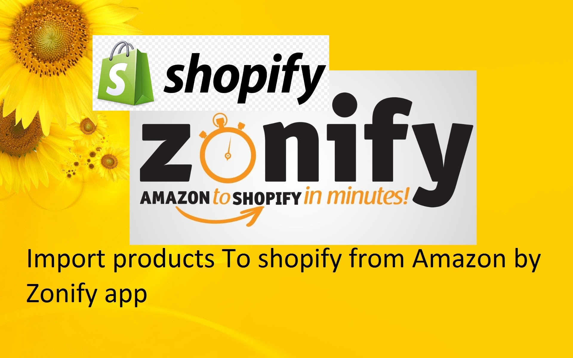 Import Products By Zonify From Amazon To Your Shopify Store By Bestever777