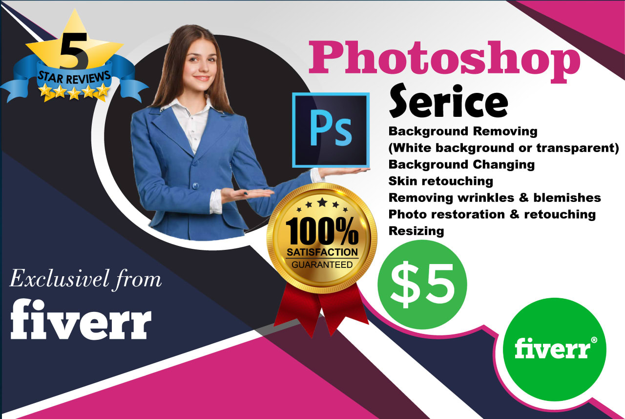 Do Background Removal Photoshop With 2 Hours By Waqifktk