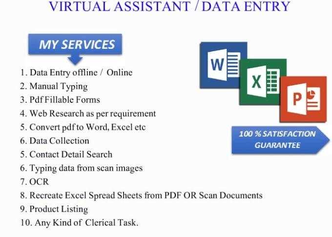 Do data entry work as soon as possible by Collish