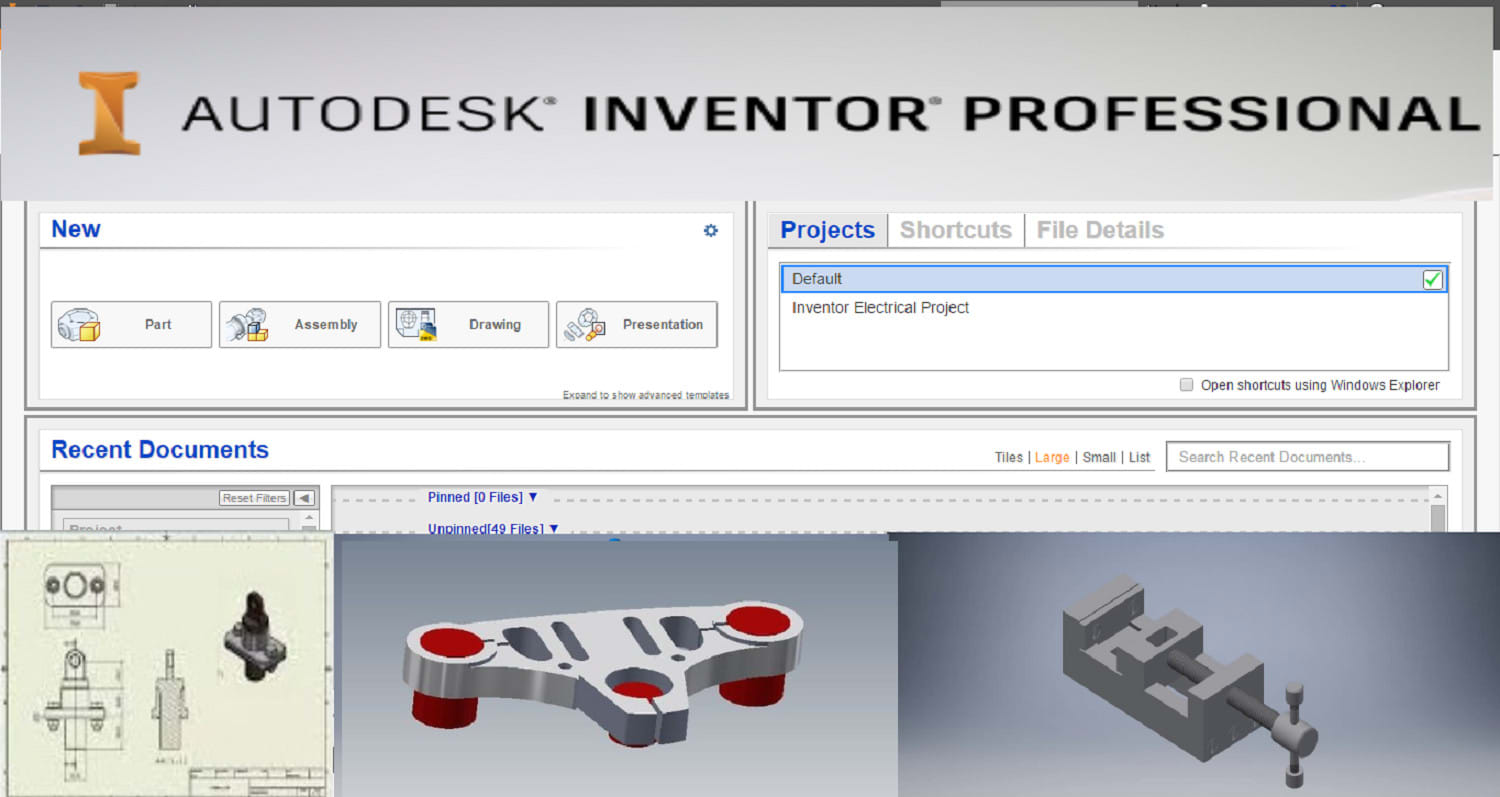Do Any Work Of Autodesk Inventor Like 2d And 3d Design By Irfananxari