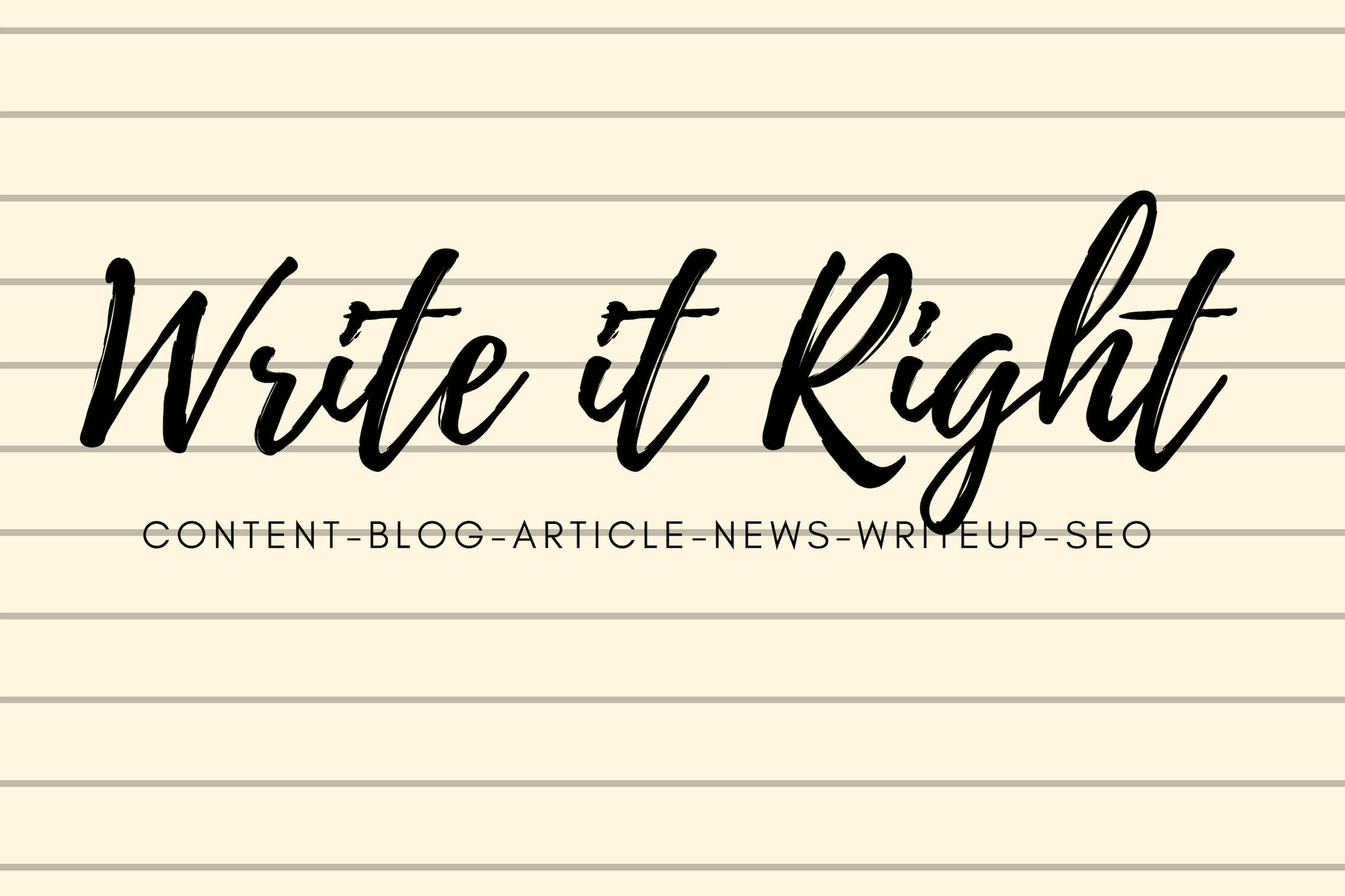 creative writing articles