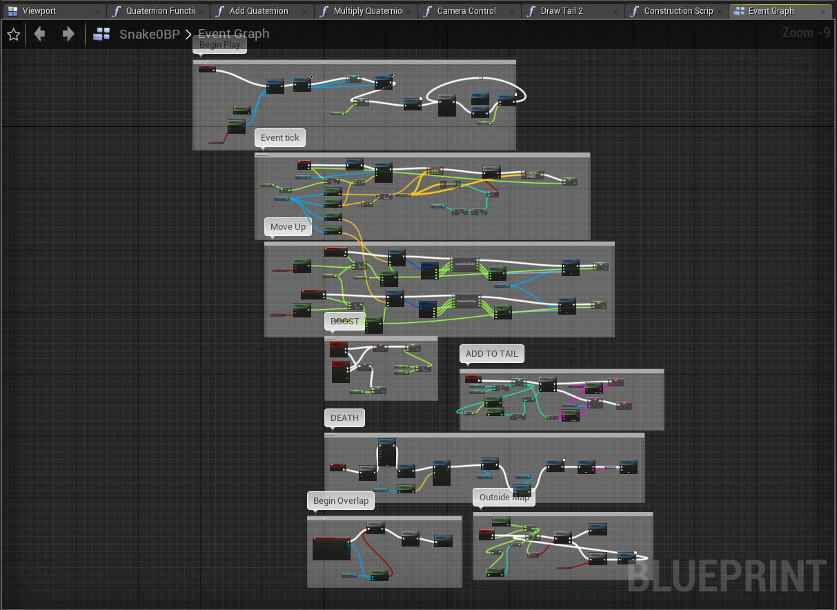 create anything in unreal engine with blueprints