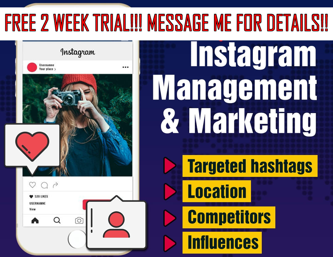 be your instagram manager to boost engagement and followers