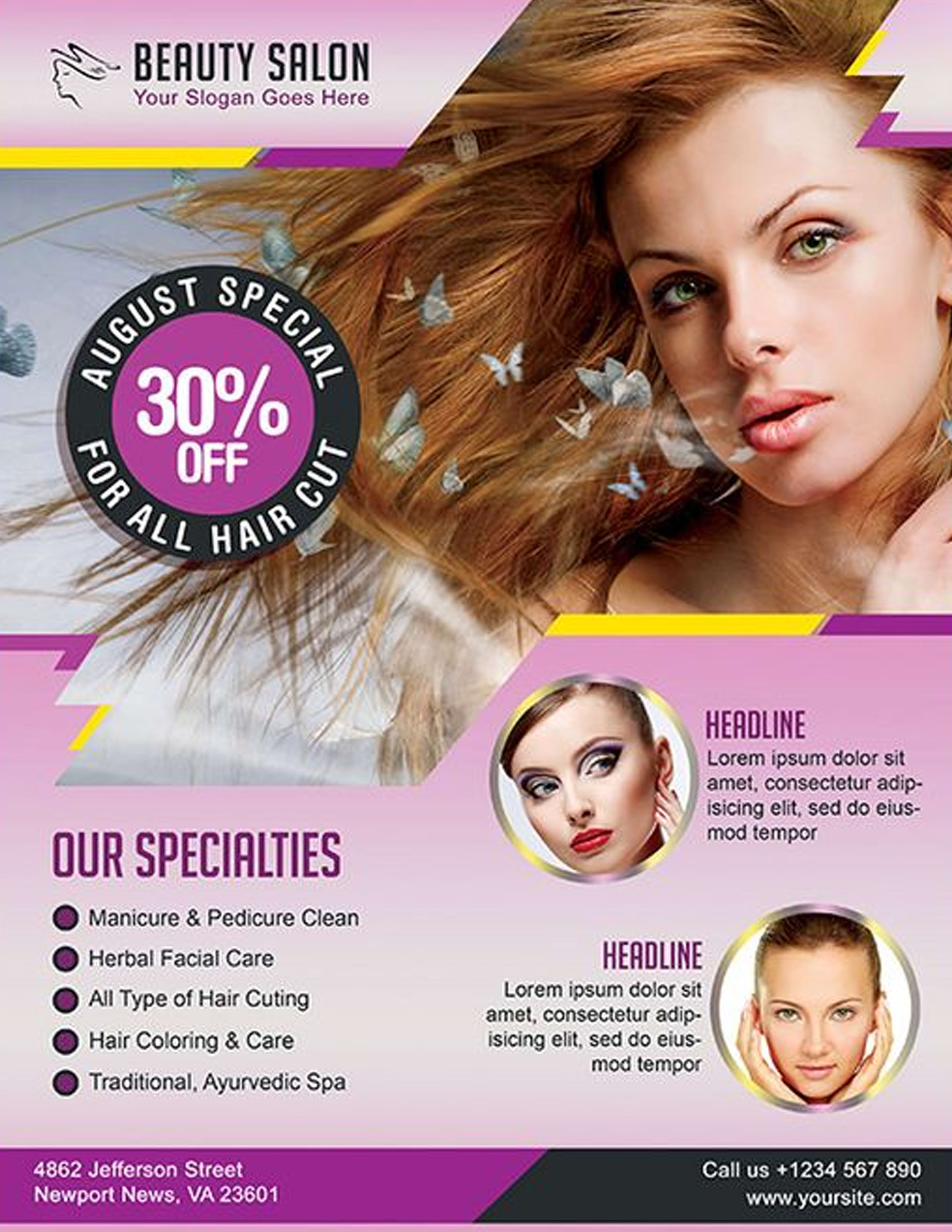 Do A Beauty Health Skin Salon Flyer Or Poster In 12hrs By Ace Art