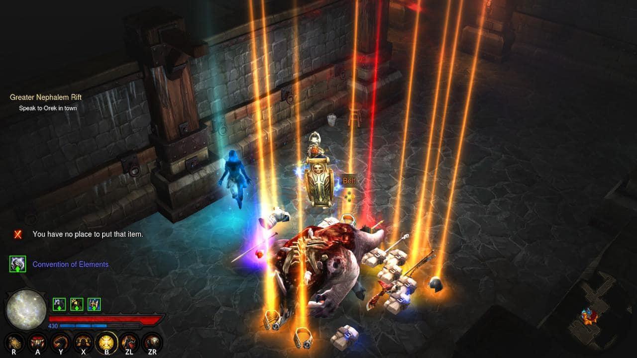 Level 70 Power Level Diablo 3 On Nintendo Switch By Theklaus92
