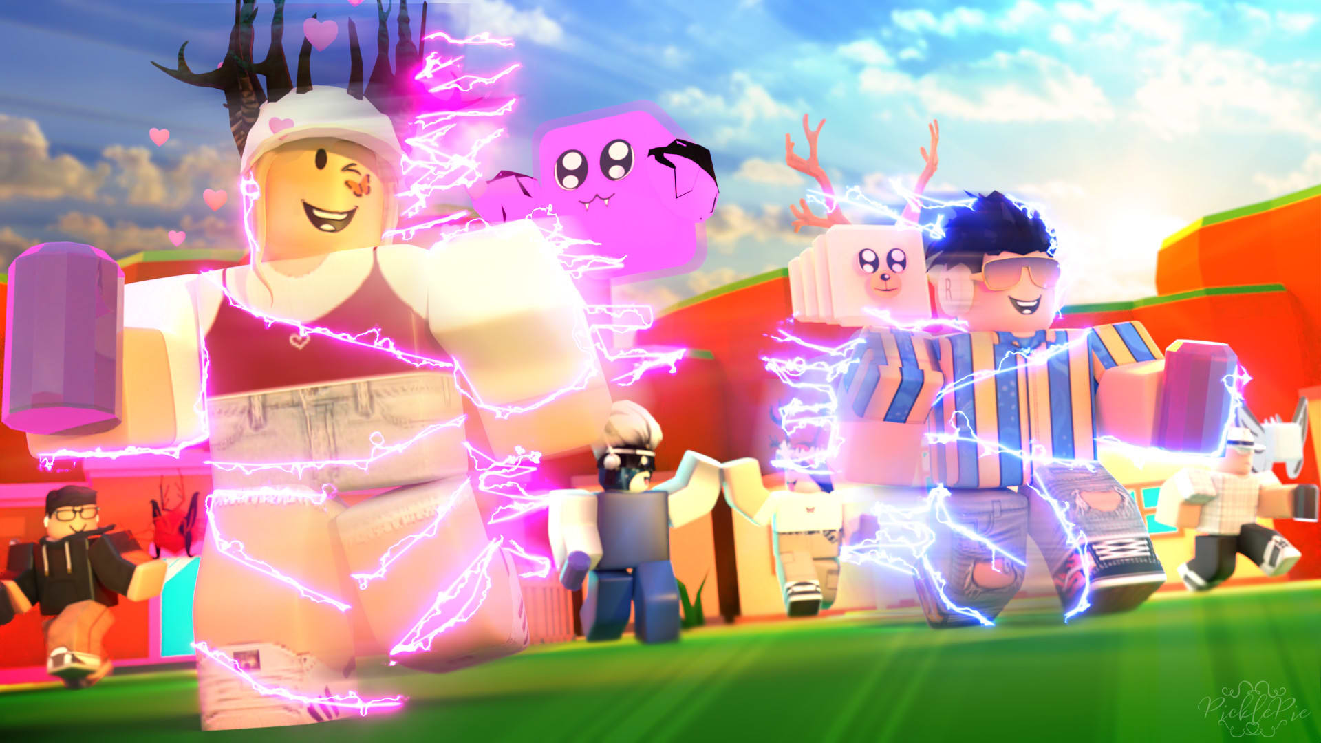 Realistic Cute Aesthetic Roblox Gfx Make You A High Quality Roblox Gfx By Picklepieyt