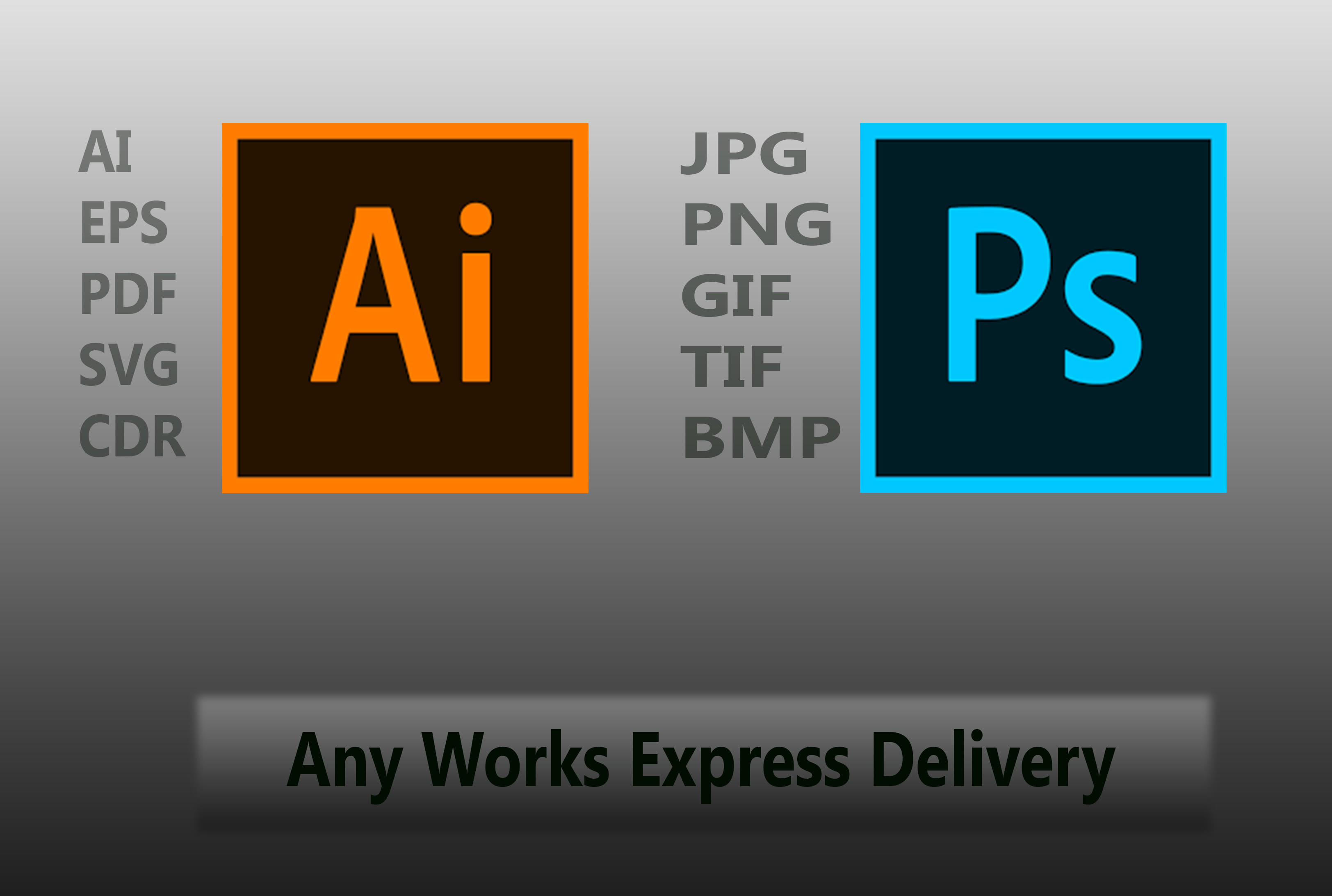 Any Raster To Vector Adobe Illustrator Work Or Edit Your Ai Eps Pdf Svg File By Designermynul
