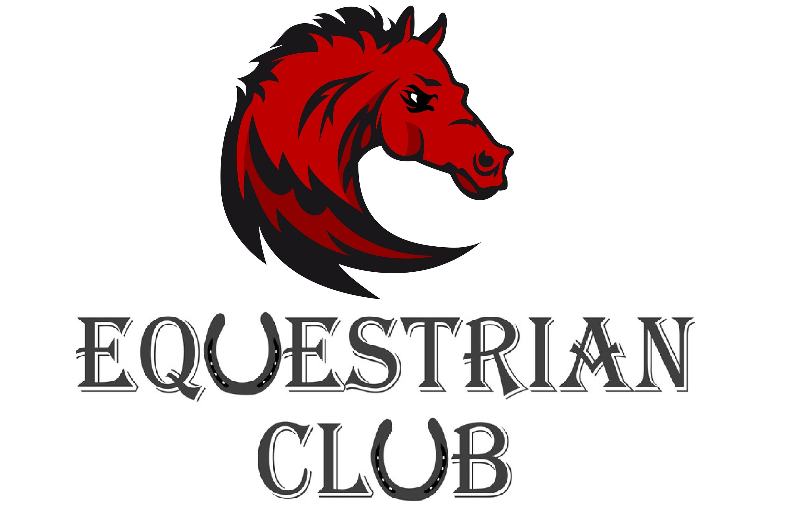 Do Good Looking Creative Equestrian Club Logo Design With Free Source File By Lizqro Crmk