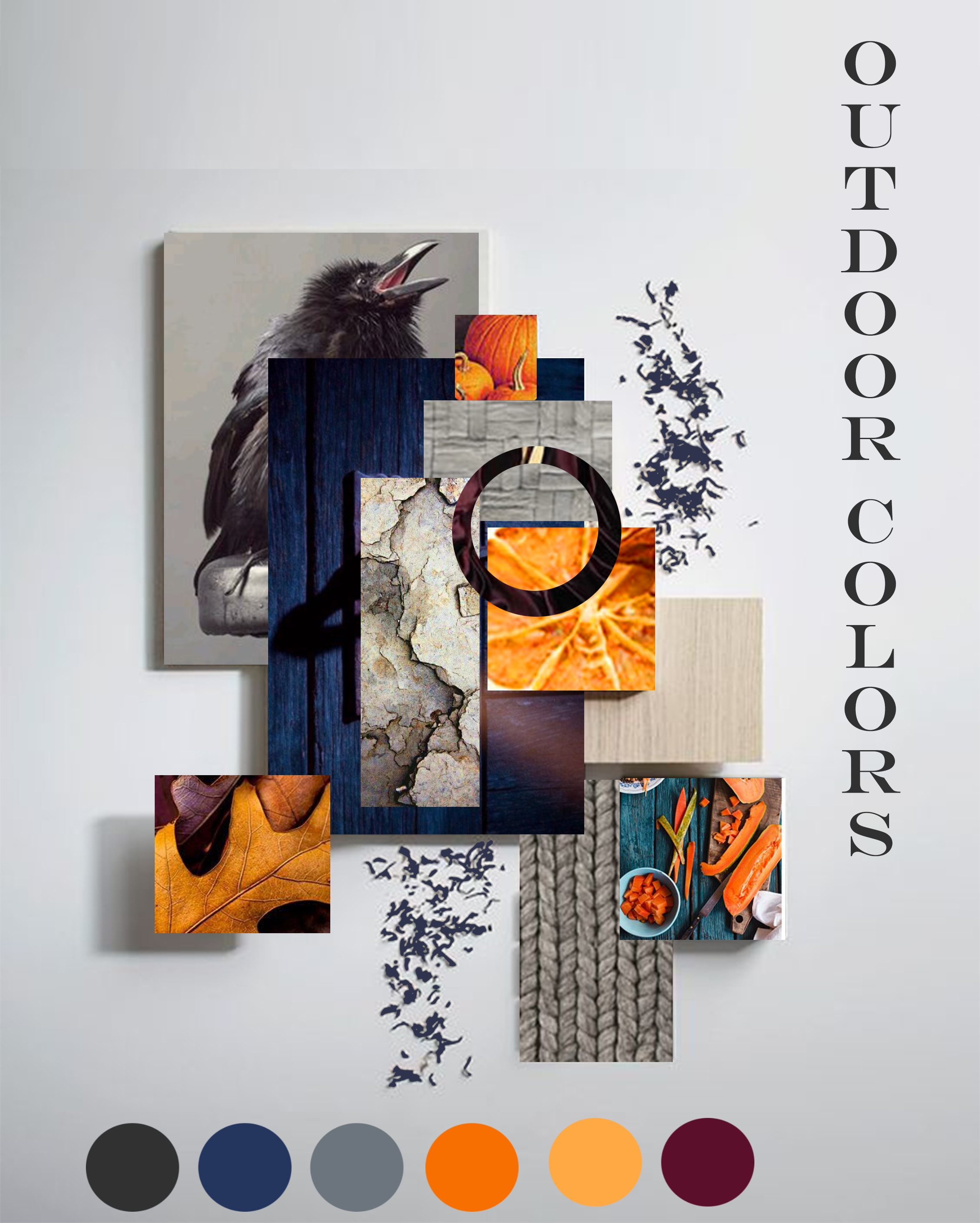 Design Mood Board Depicting A Color Scheme Or A Whole Story By Mahanoorsial
