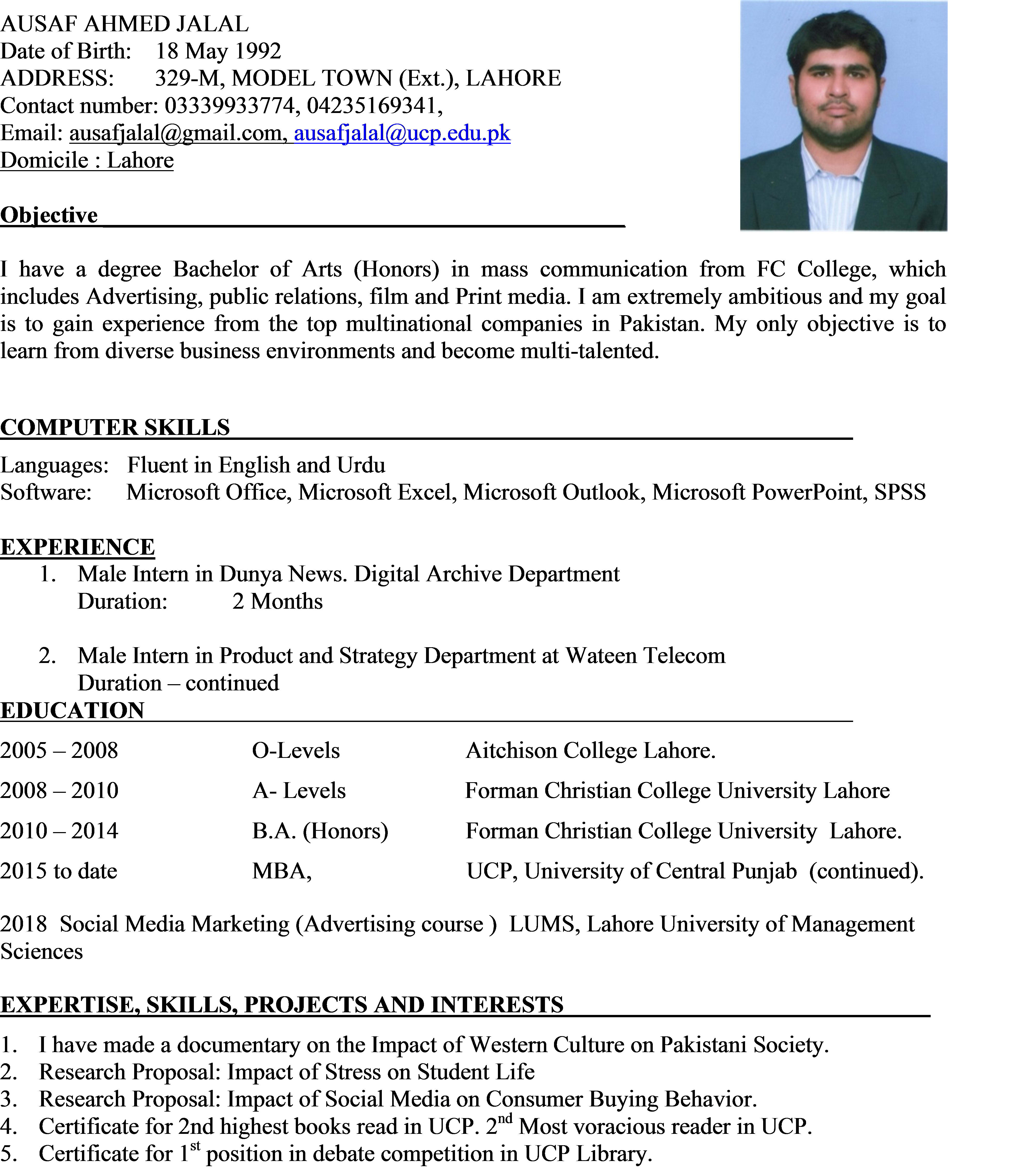 resume writer and cover letter writer