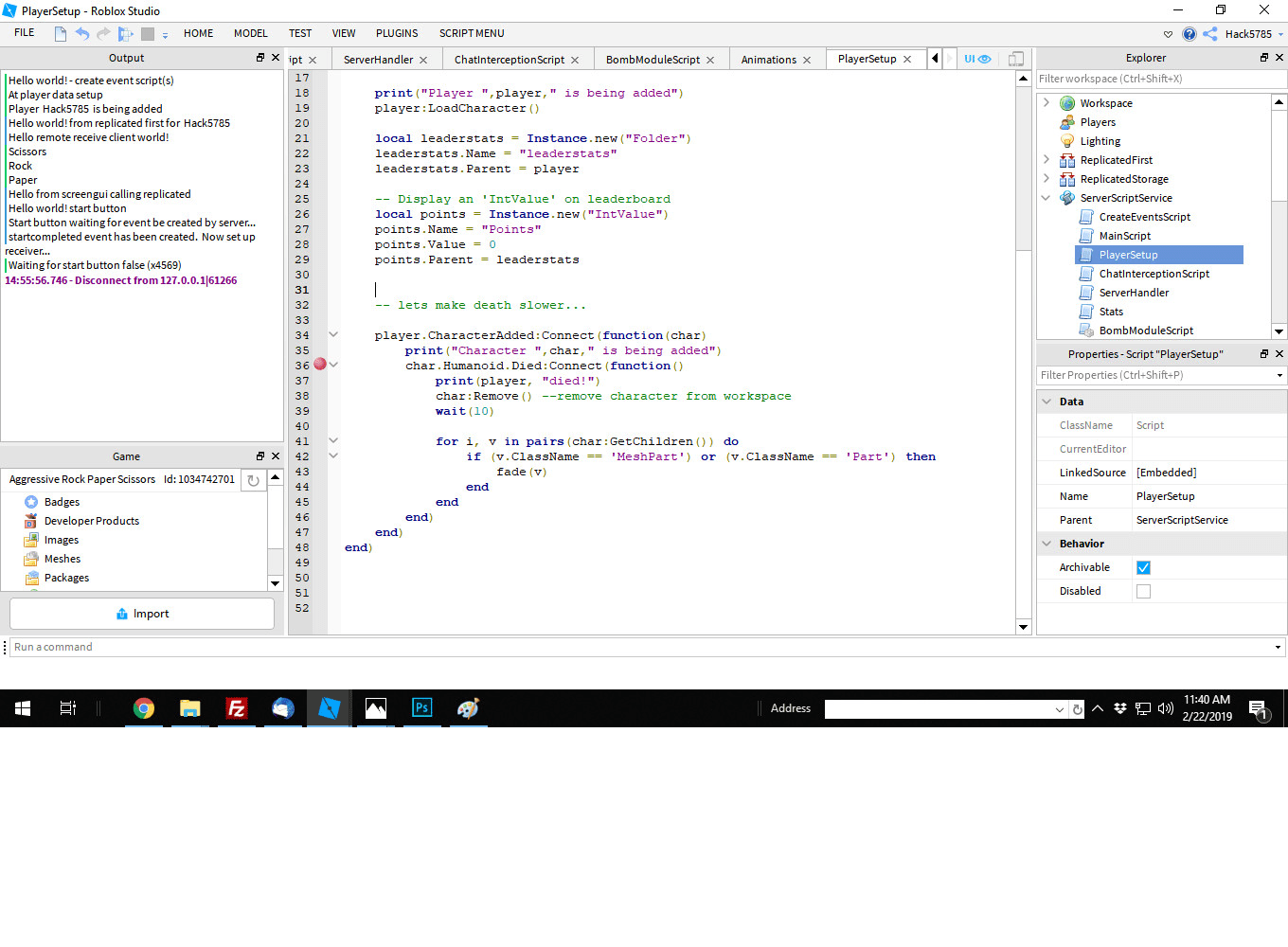 Write Adapt Or Debug Roblox Lua Scripts To Enhance A Roblox Game