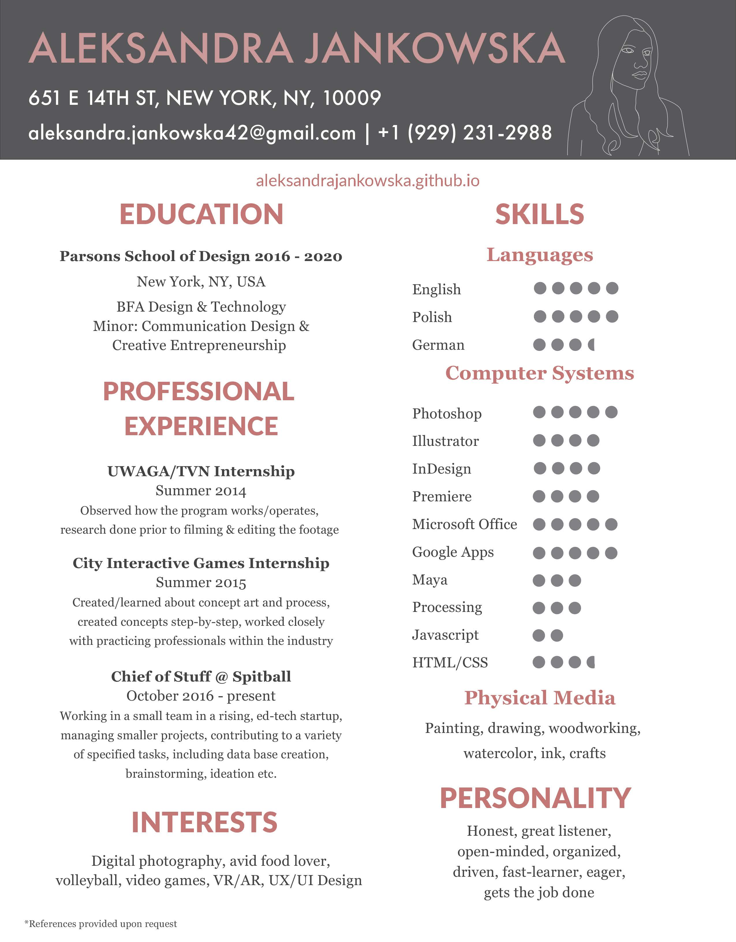 Design Your Resume Cover Letter And Proofread It By Olaj42 Fiverr