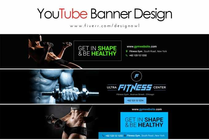 Design Youtube Banner In 2 Hour By Sakhoaut