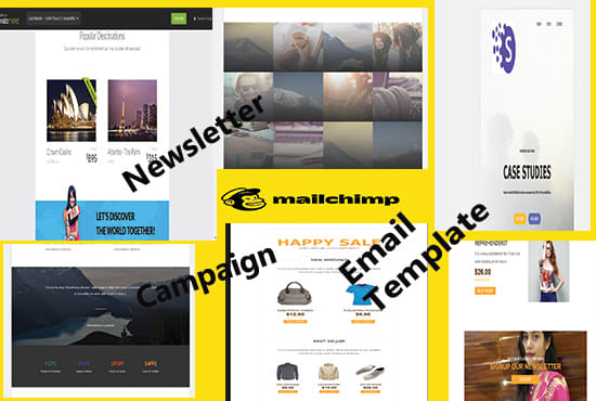 Mailchimp Template Adding Popup Form Campaign