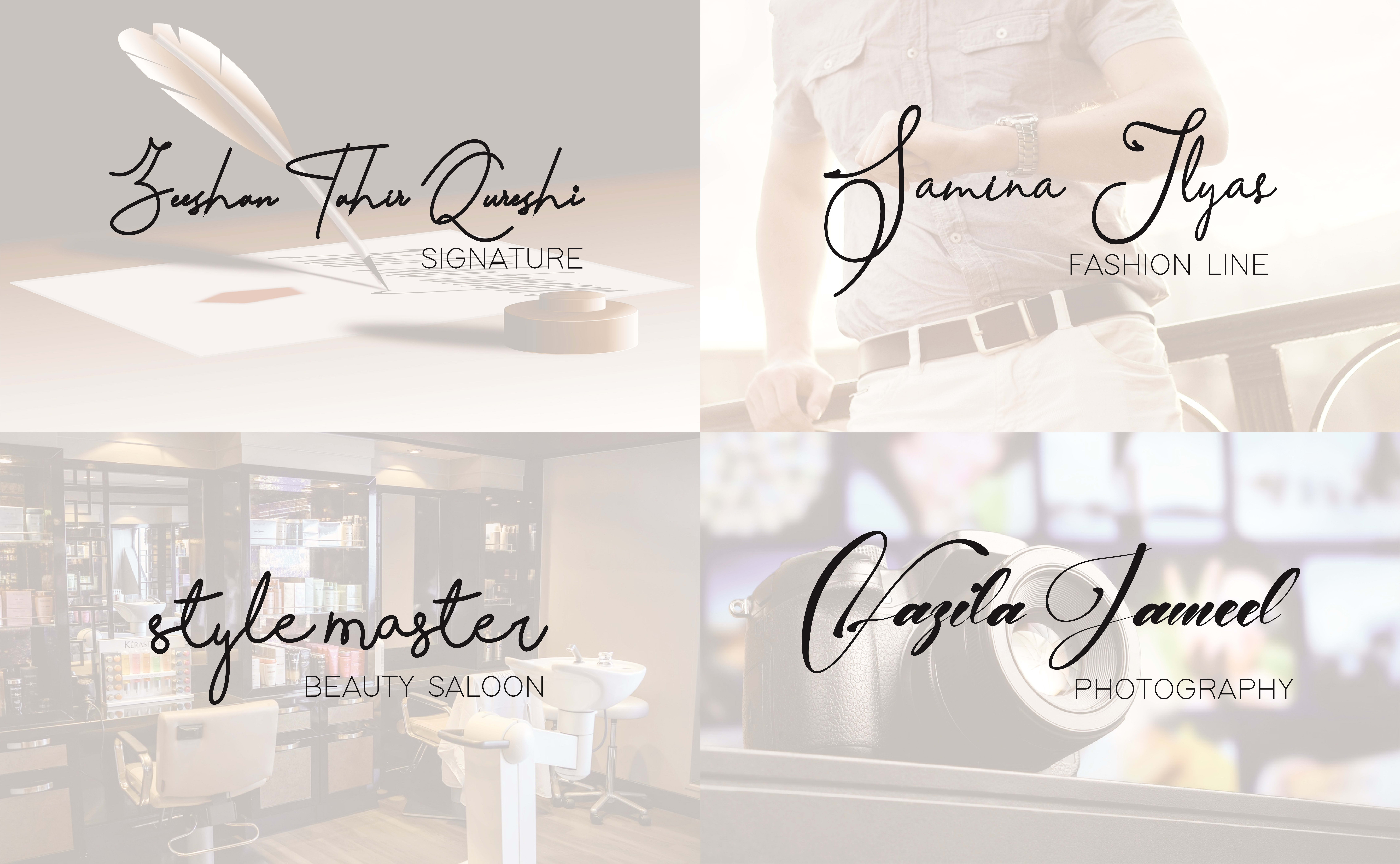 graphic_icons : I will design a high quality signature logo in just 5  dollar for $5 on www fiverr com