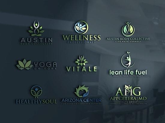 Do natural spa yoga wellness health beauty logo by Magic_tool007