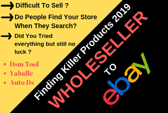 List Products From Wholesaler To Ebay Manual Dropshipping By Seoexpert Amjad