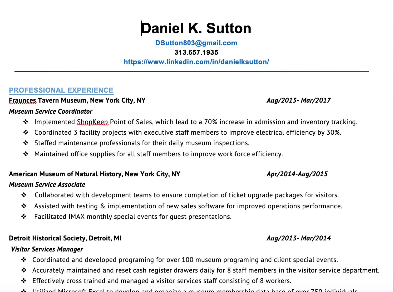 Be Your Resume And Cover Letter Writer By Danielsutton868 Fiverr