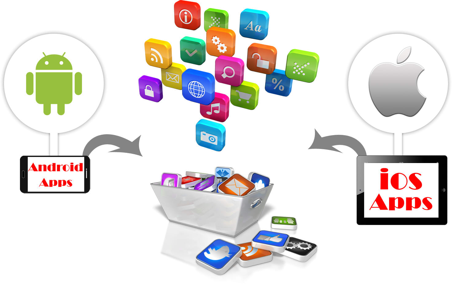 Develop quality android and ios app, mobile app, web app by Goldendeveloper