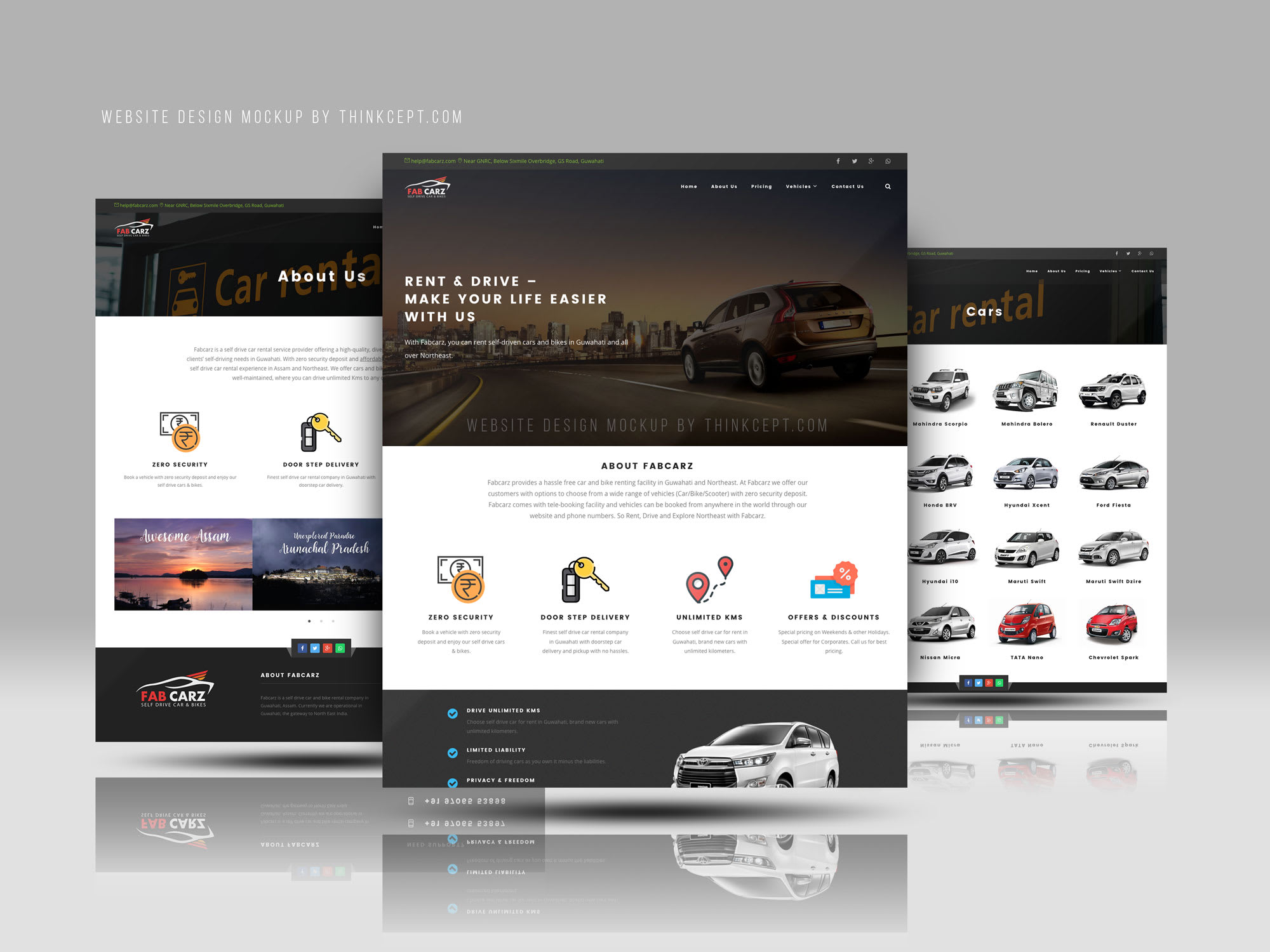 The Design You A Website With A Modern Design Layout By Erpansoepandi