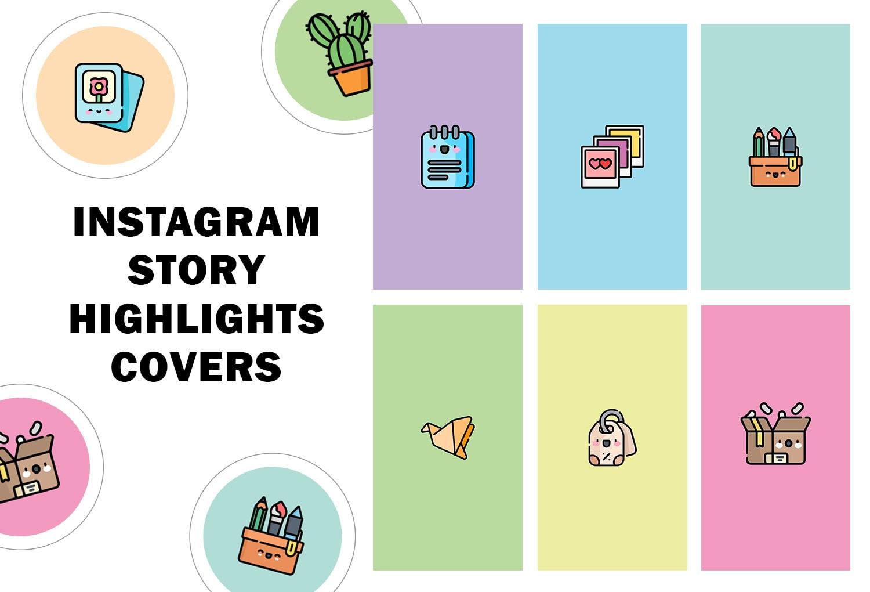 Create Kawaii Instagram Story Highlight Covers By Nadadecoco