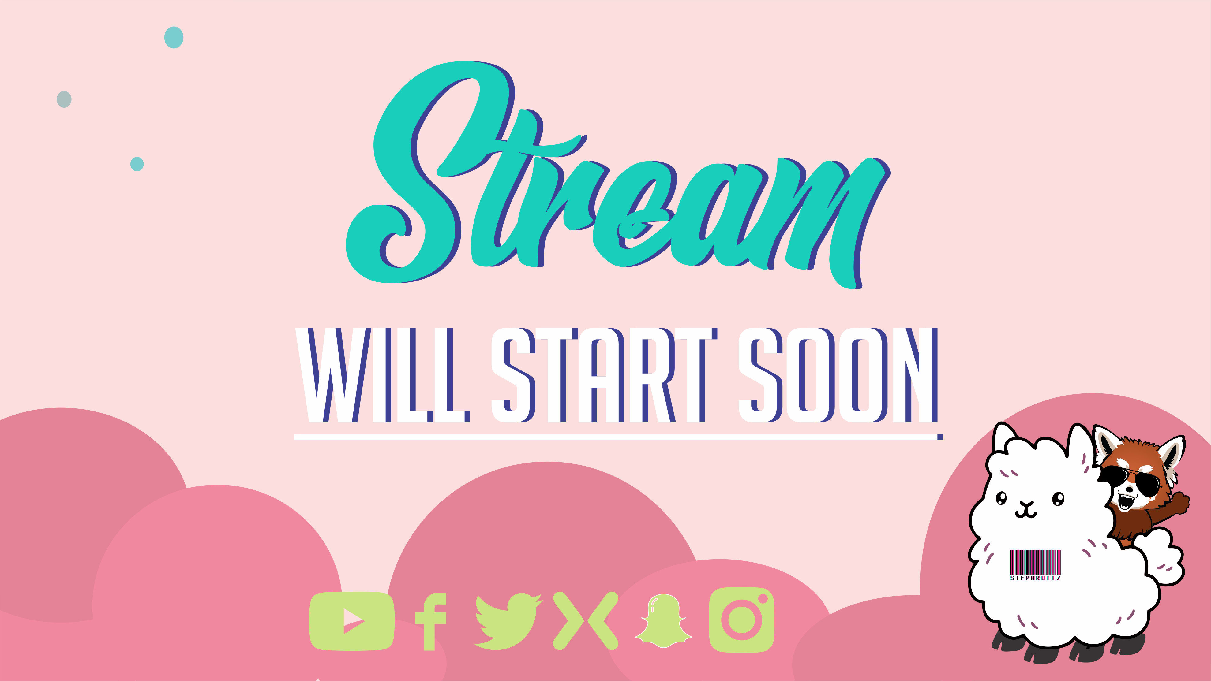 Design An Awesome Overlay Fof Your Stream By Stephrollz