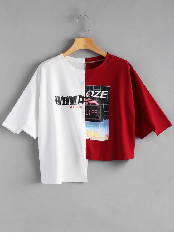 Do New Trendy Text And Graphic T Shirt Design By Loojiayie
