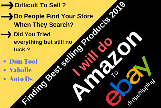 List Amazon Best Selling Products To Ebay For Dropshipping By Seoexpert Amjad