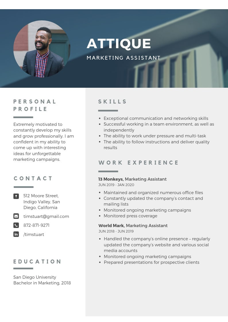 Make Your Resume And Cover Letter Stand Out Of Crowd By Attiquemalik Fiverr