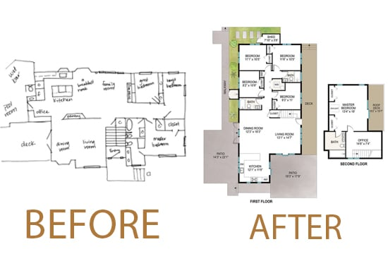 Redraw Floor Plan For Real Estate Agent With Illustrator By Thebeedesigner Fiverr