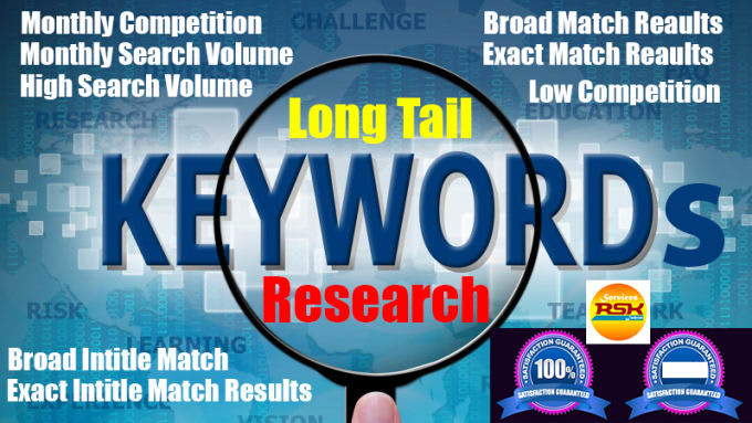 do SEO keywords research with deep competitor analysis reports