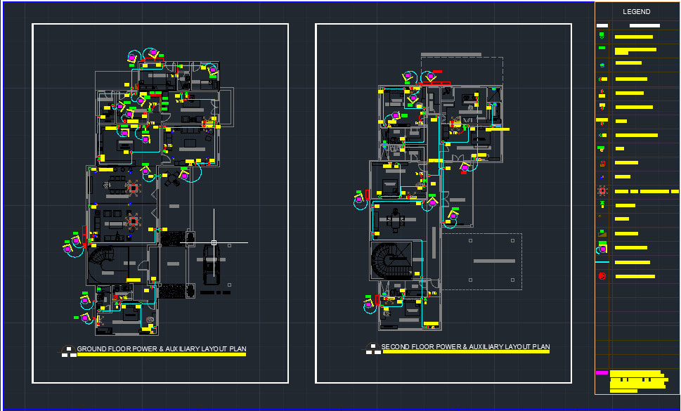 Do Electrical Design For Your Given Floor Plan In Autocad By Winstn13 Fiverr