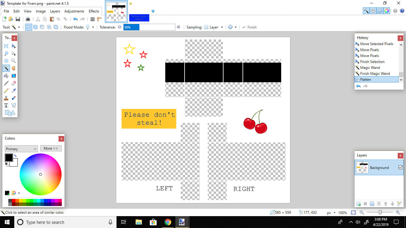 Make You A Custom Shirt Or Pants Template For Roblox By