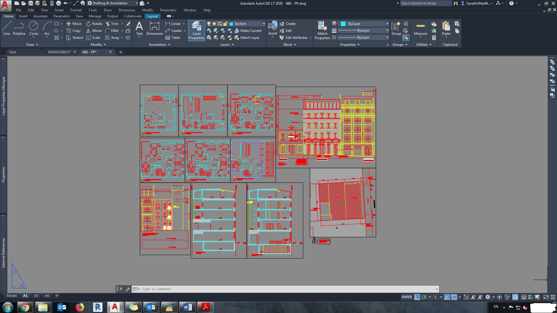 Create Redraw 2d Floor Plan Using Auto Cad By Julianahunt Fiverr