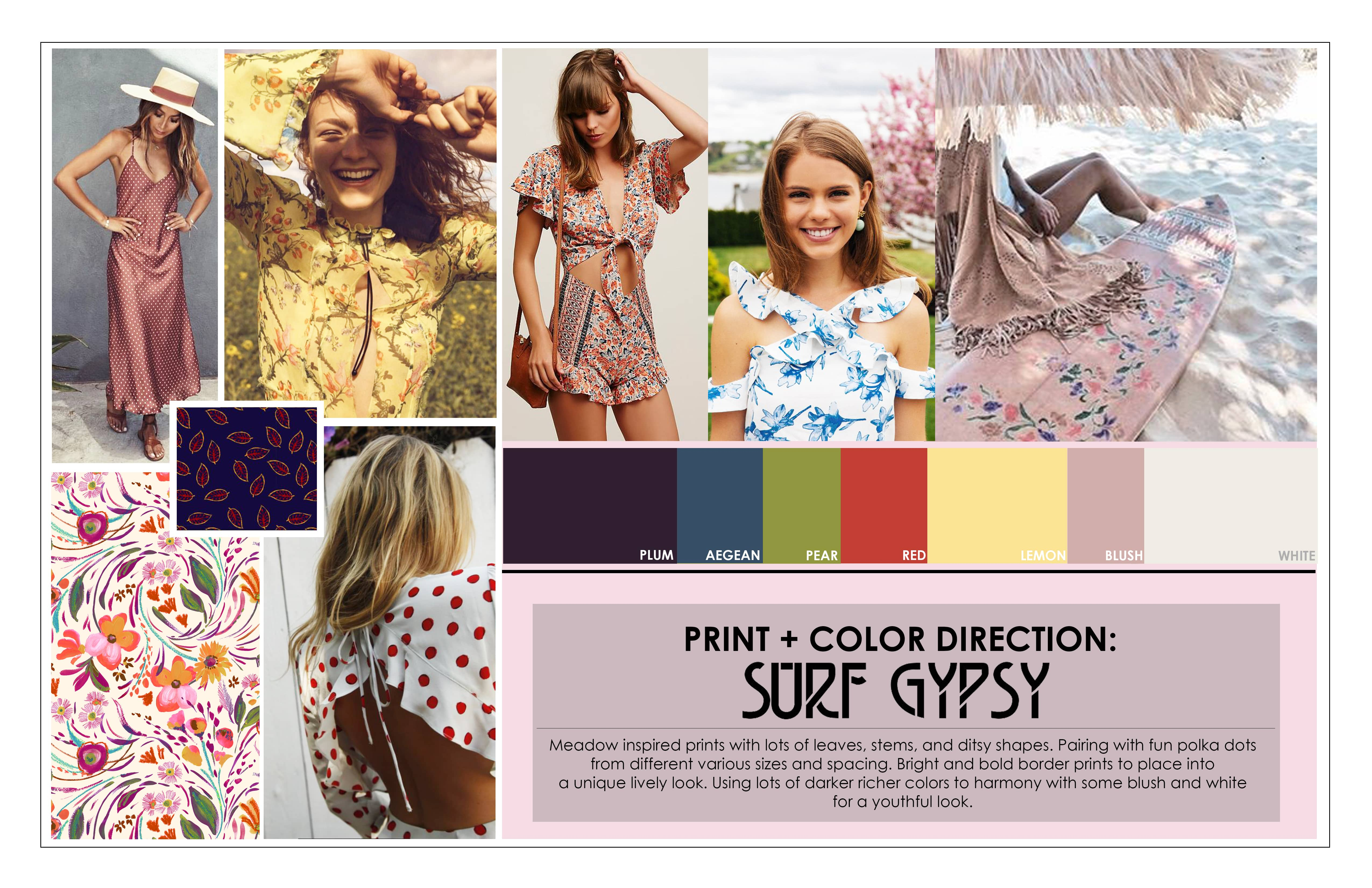 Design And Create Inspirational Mood Board For Fashion By Jennabot