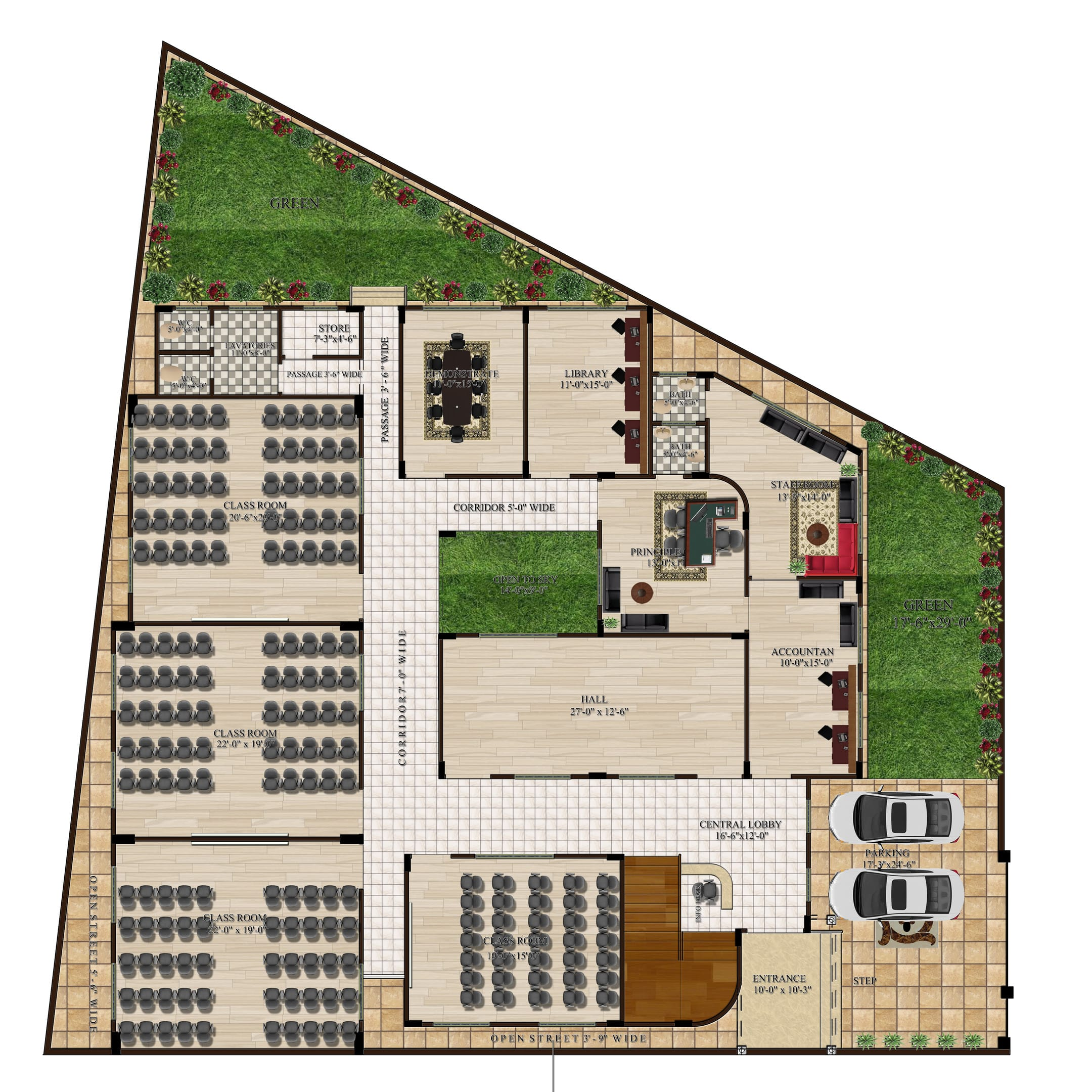 Design An Expert Floor Plan With Autocad And Photoshop By Zoyagul40 Fiverr