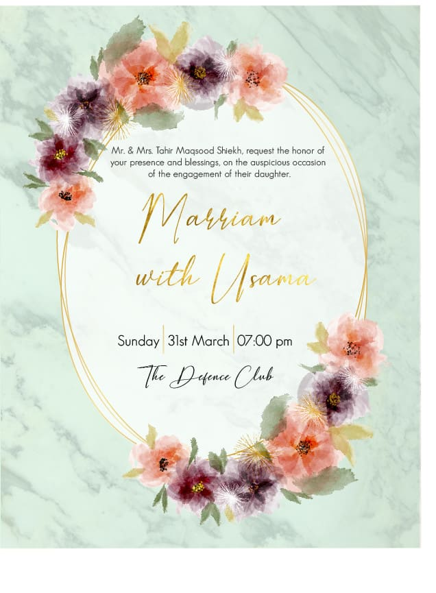 Design wedding invitations brochures and menu cards by Ismaiqbal