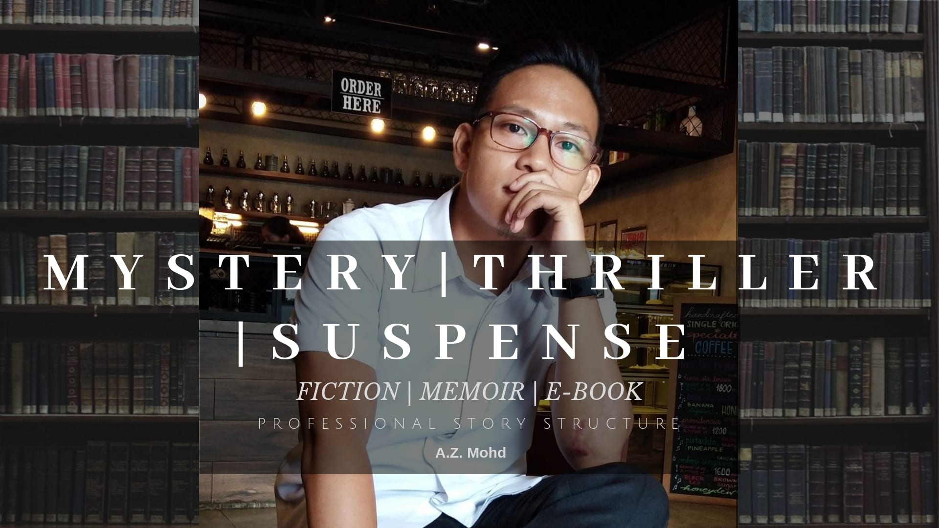 ghostwrite your mystery, thriller, suspense story