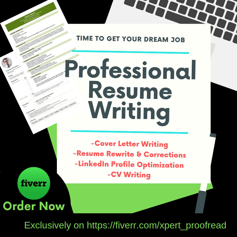 Be Your Professional Resume Writer Cover Letter Or Linkedin By Xpert Proofread Fiverr
