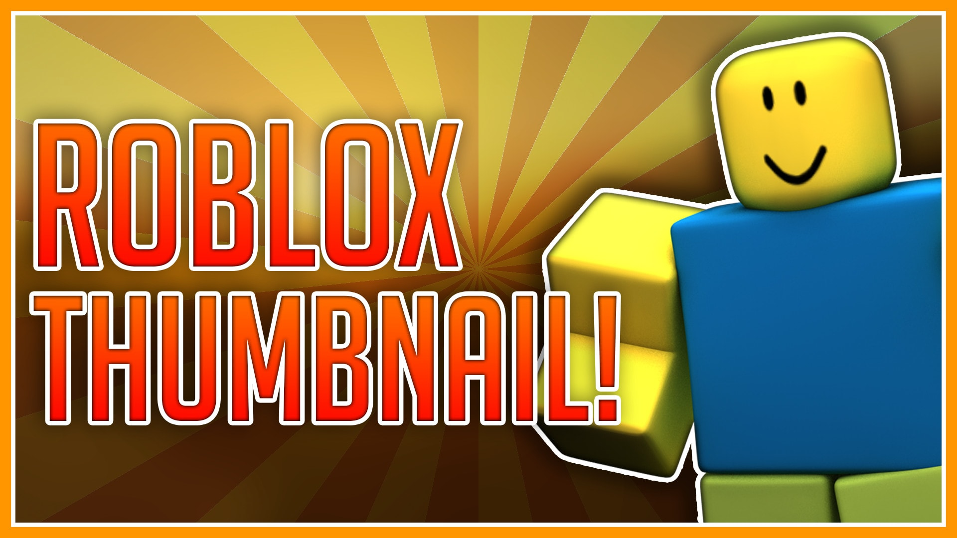 Create Roblox Youtube Thumbnails By Alterent