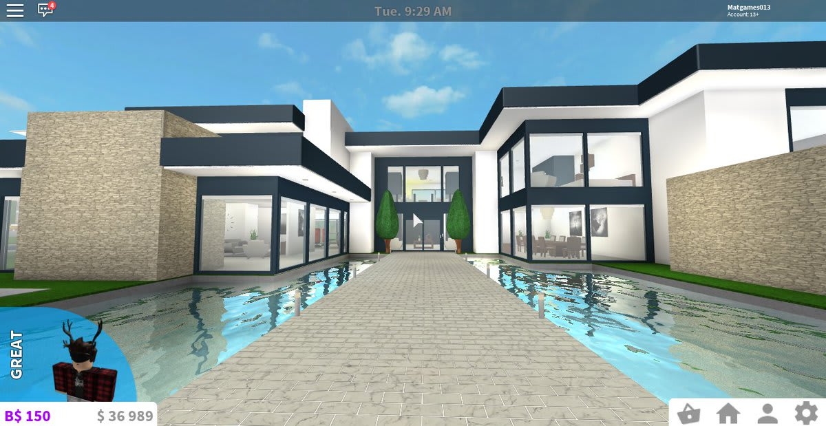 Make You A Great Bloxburg House By Noobmaster60